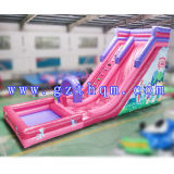 The Shark Pool Airflows Water Slides / Inflável Long Water Slide /