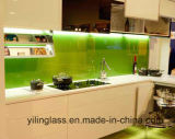 Vidro Tempered Splashback de Serigraphy da cor