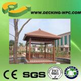 Padiglione esterno del giardino WPC in Cina
