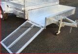 De hoogste Aanhangwagen van de Doos Galavanised van de Kwaliteit 8X5 Hete Ondergedompelde met Helling