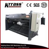 QC12k/QC12y CNCの熱い鋼片のせん断機械