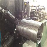 Tube d'échappement de métal flexible effectuant la machine