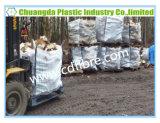 Sacchetto arieggiato di tonnellata del contenitore di grandi dimensioni della maglia FIBC per la legna da ardere dell'imballaggio