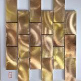 Плитка мозаики металла смешанного цвета строительного материала алюминиевая (FYL122)
