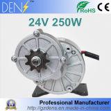 motor da engrenagem da C.C. da escova de 250W 24V 36V para o motor elétrico da bicicleta