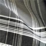 Wasser u. Wind-Beständige unten Umhüllung gesponnenes Nylon des Schaftmaschine-Plaid-Jacquardwebstuhl-33% des Polyester-67%, die Intertexture Gewebe (H028, Mischen-Spinnen)