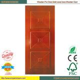 Дверь двери доказательства дверки топки ядровая прокатанная PVC