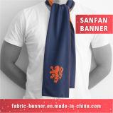 カスタマイズされた絹はScardのスカーフを元気づけているファンを遊ばす