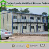 Casa pré-fabricada econômica moderna de aço clara de K