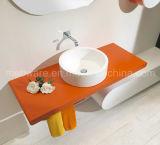 Тщеты ванной комнаты PVC типа померанцовой встречи белые итальянские