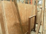 Ágata Cream Marble Slab para Countertops y Building Materials