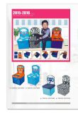Стул малышей хранения маленького ребенка с конструкцией цвета (GSA7088S)