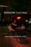 Calentador infrarrojo del restaurante del calentador del café infrarrojo de la calefacción del café con teledirigido