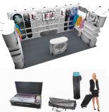 Equipamento de alumínio portátil e modular da exposição da cabine da exposição da tela