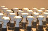 렌즈를 가진 3W/5W LED GU10/MR16/E27/Gu5.3/E11 옥수수 속 램프 덮개