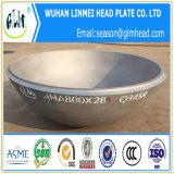Protezioni cape ellittiche emisferiche dell'acciaio inossidabile per i tubi o i tubi