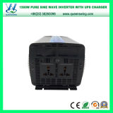 Инвертор заряжателя волны синуса UPS DC12V AC110/120V 1500W чисто (QW-P1500UPS)
