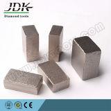 직사각형 다이아몬드 세그먼트를 삭감하는 대리석과 석회석