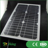 Alto Efficiency Mono Solar Panel 14W Small Size Solar Panel con Alloy Frame