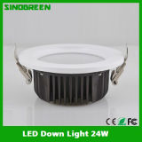 세륨 FCC RoHS UL High Quality LED Down Light 24W