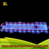 China Factory 3D Brand LED PVC Soft Bar Mat Barwares