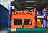 Crayon Bounce Combo Inflatable Bouncer para jardim de infância (chb152)