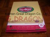 Blanc extérieur et cadre intérieur normal/de Papier d'emballage pizza (PZ-059)