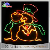 2015新しいサンタクロースLEDのクリスマスの装飾ライト