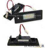 E81 E87 3528 BMW를 위한 높은 밝은 차 LED 번호판 빛