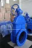 Запорная заслонка дуктильного утюга Nrs резиновый для воды (Z45X-10/16)