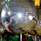 Personalizada boda al por mayor de eventos decorativo disco flotante inflable de la bola de espejo