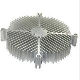 Прессованный алюминиевый Heatsink СИД с подвергать механической обработке CNC