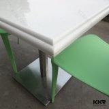 De Marmeren Eettafel van het Restaurant van het Snelle Voedsel van de hoogste Kwaliteit voor Kfc (161021)