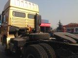 Shacman 6X4のディーゼル機関10の車輪40tontractorのヘッドトラック