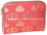 赤いCuttonの方法女性化粧品の財布