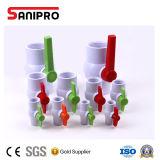 """Válvulas de esfera verdadeiras da união do PVC do melhor plástico da qualidade 1/2 """" - 4 """""""