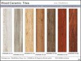 Azulejo de suelo de cerámica de madera (VRW8N15055, 150X800m m)