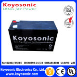 UPS da bateria de 6V 4.5ah mini com a bateria acidificada ao chumbo recarregável de apoio de bateria 6V 4ah