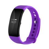 Nuevos IP68 impermeabilizan la pulsera elegante con el Wristband del reloj de los deportes de Bluetooth