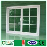 Pnoc080811ls sondern glasig-glänzendes schiebendes Fenster mit Gitter-Entwurf aus