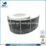 Reutilizable con alta calidad laminó la escritura de la etiqueta de papel de la etiqueta engomada