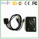 USB/RS232 lecteur de cartes sec de proximité d'IDENTIFICATION RF d'à haute fréquence de la surface adjacente 13.56MHz