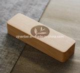 木の茶ボックスを滑らせる習慣のレーザーによって刻まれるロゴ