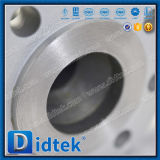 La palanca de la clase 600 del ANSI de Didtek funcionó la vávula de bola reducida de flotación del alesaje