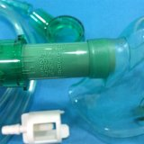 Medizinischer Bedarf Multi-Luftauslaß Schablone mit variabler Sauerstoff-Konzentration (Grün, pädiatrische längliche mit Rohrleitung)