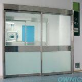 Ручная стеклянная раздвижная дверь для стационара