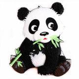 Ricordo di gomma molle del magnete del frigorifero del PVC di figura del panda