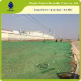 Напольная сеть пыли зеленого цвета 60GSM/пылезащитная сеть, изготовление Китая