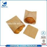 Clients d'abord et sac de papier de première nourriture de réputation