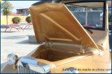 Coche clásico eléctrico de la boda del vehículo de pasajeros del carro de la vendimia del carro de golf de 6 Seater